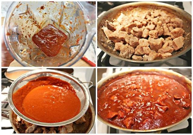 Pork Stew, sauce