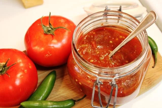 Easy Homemade Salsa, mexican salsa roja