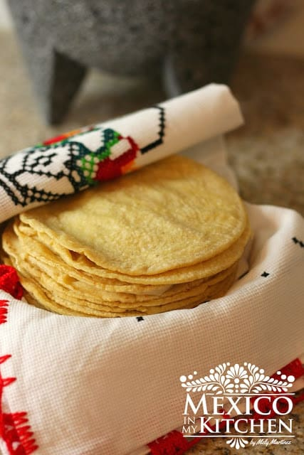 How to make homemade corn tortillas, step by step photo tutorial & video