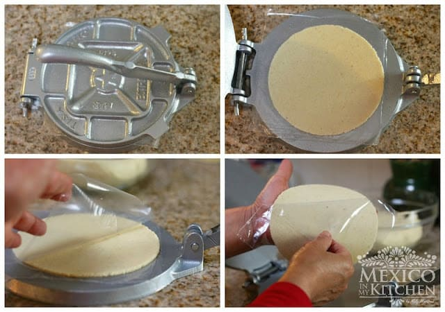 How to make homemade corn tortillas, step by step photo tutorial & video.