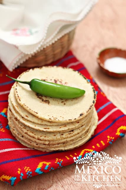 corn tortillas form scratch a traditional Mexican recipe