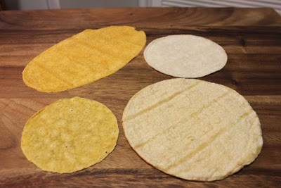 corn tortillas type in Mexico