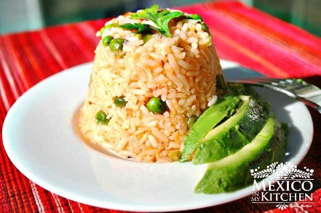 Mexican-Rice-recipe Arroz Mexicano step by step recipe