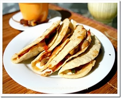 Corn Dough Quesadillas