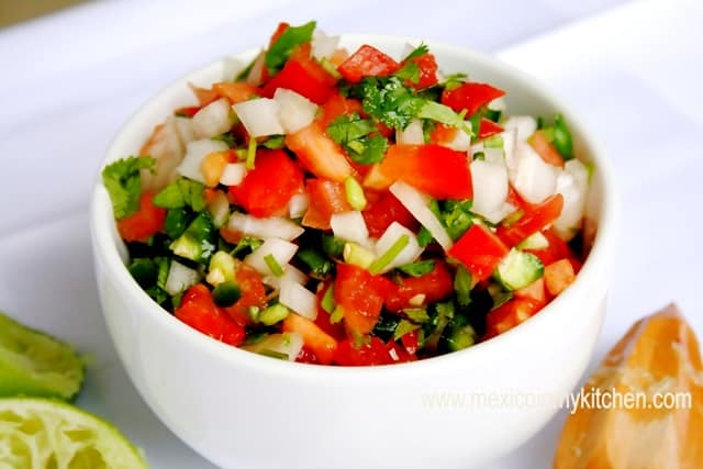 Pico de Gallo Salsa Recipe | Authentic Mexican Recipe