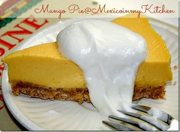 No-Bake Mango Pie | This recipe is done in minutes!