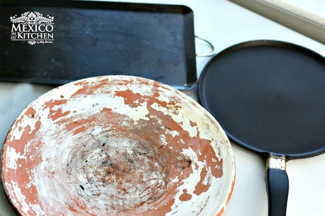 Mexican Griddle comal clay barro |  Mexican Cooking Utensils