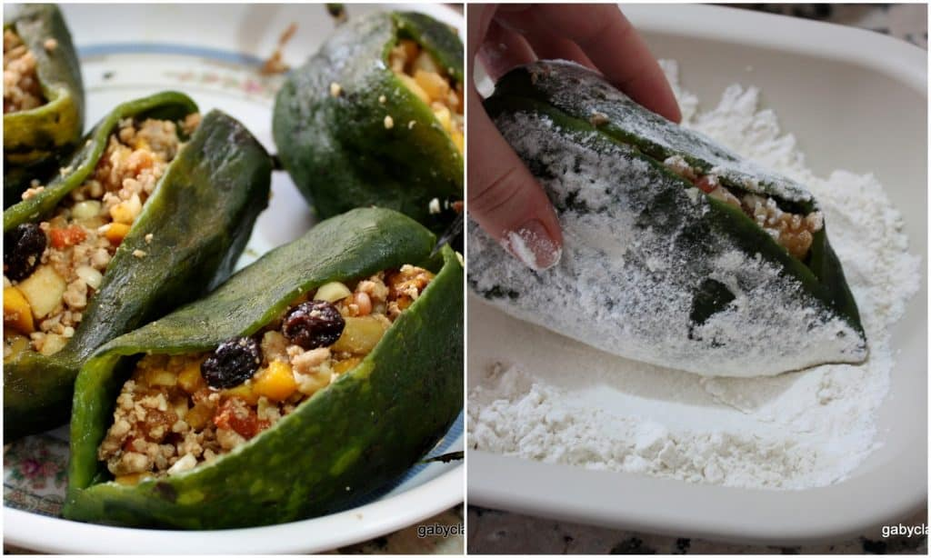 Stuffed Poblano Peppers in Walnut Sauce Recipe | Really delicious