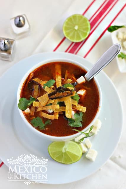 Tortilla Soup Recipe | I hope you enjoy this delicious recipe