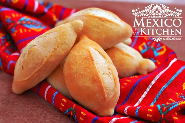 Mexican bolillo recipe pan frances | Crusty rolls