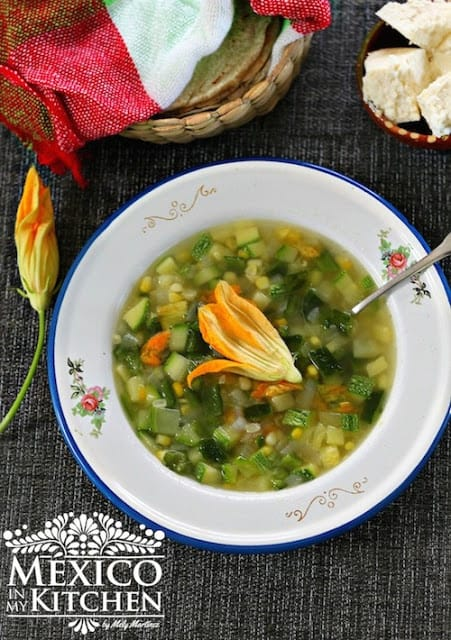 Vegetable Garden Soup | Sopa de Milpa Recipe