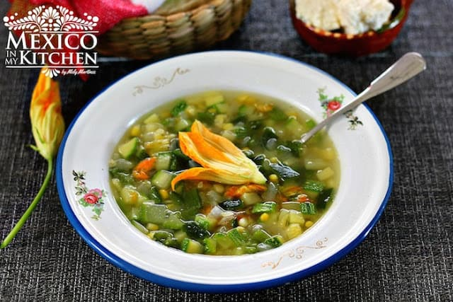 Vegetable Garden Soup | Authentic Mexican Food Recipes