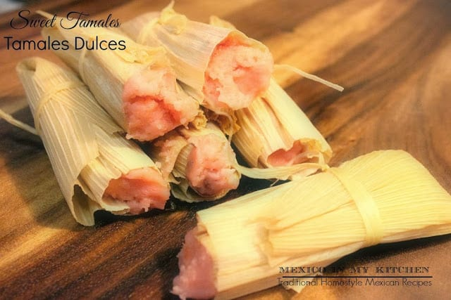Sweet tamales recipe, Mexican Christmas Dishes