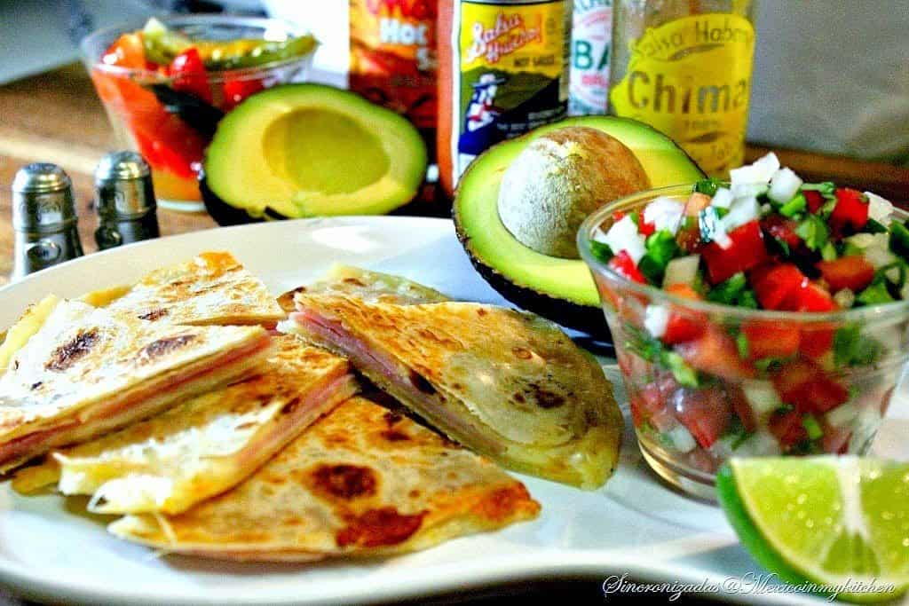 Ham Quesadillas - Sincronizadas de Jamón | Mexican Game Day Recipes