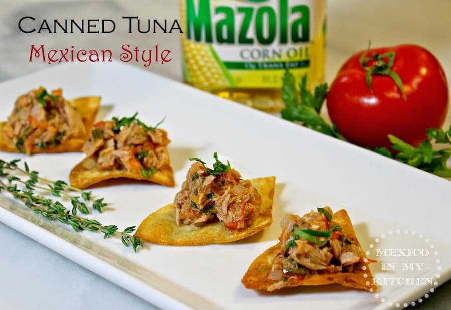 Canned Tuna Mexican Style | Learn how to do make it today.