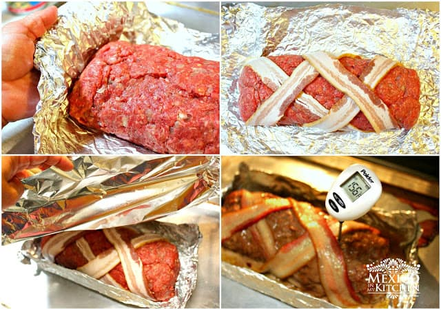 Mexican Meatloaf Recipe | step by step instructions with photos of the process.