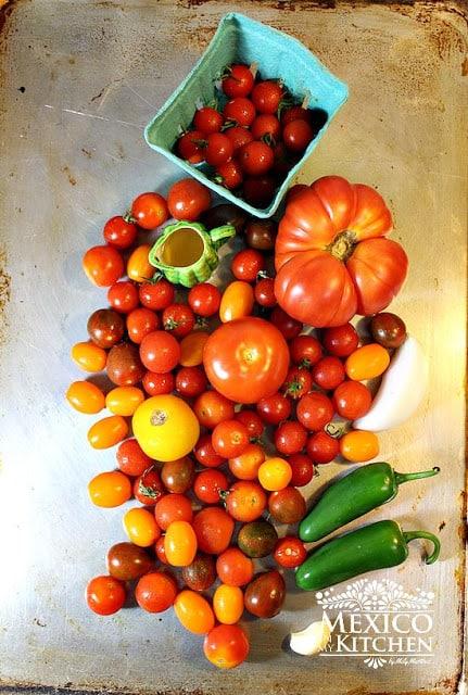 Cherry Tomato Salsa Spicy | Mexican Recipes