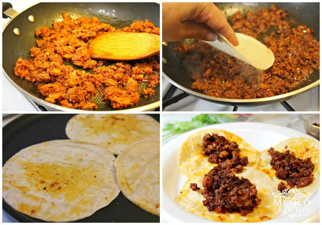 Chorizo Tacos Recipe | Step by step instructions