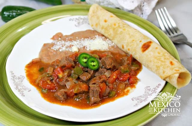 Easy Mexican Beef Stew | Authentic Mexican Food Recipes