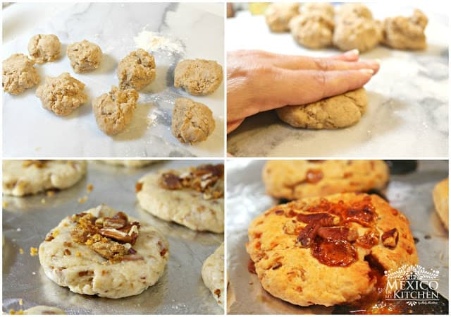 Chorreadas Piloncillo Cookies   easy and with excellent results