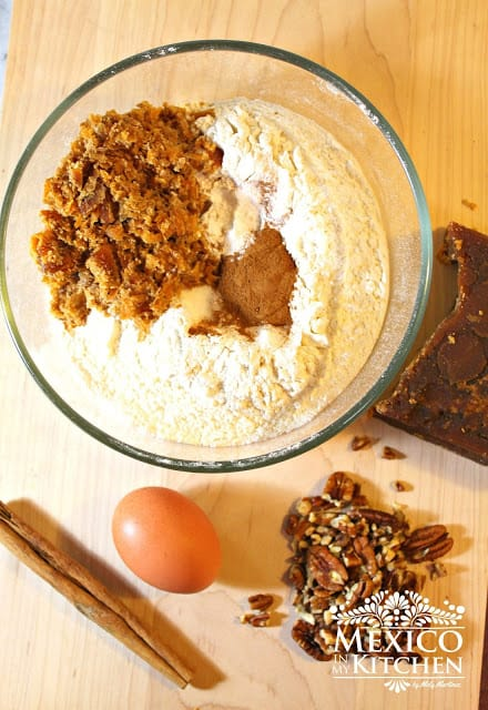Chorreadas Piloncillo Cookies   Ingredients