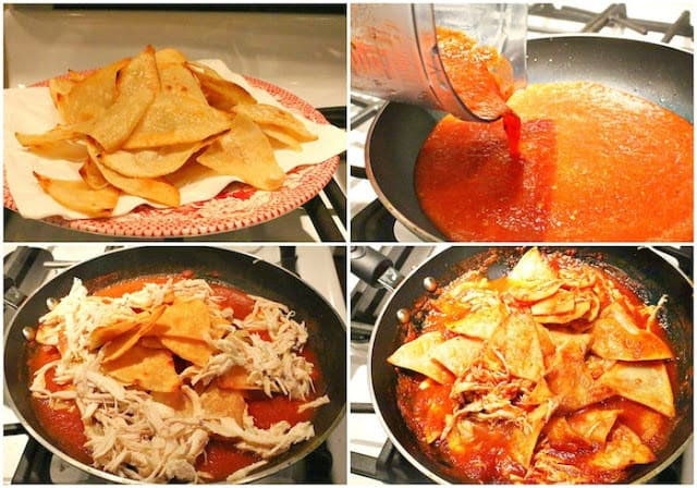 Chipotle Chilaquiles Recipe | step by step instructions