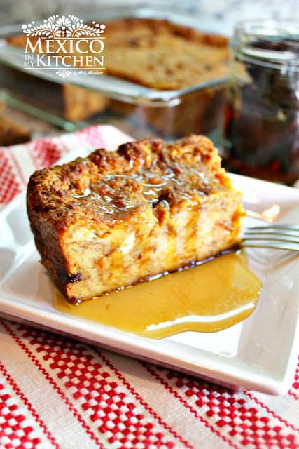 Mexican Bread Pudding | Mexican Recipes