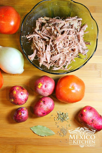 Mexican ropa vieja recipe | Ingredients