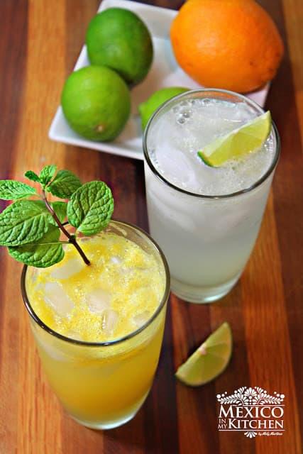 Mexican Limeade and Orangeade recipe | Mexican Recipes