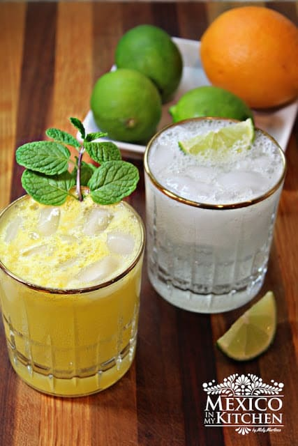 Mexican Limeade and Orangeade recipe | Authentic Mexican Drinks