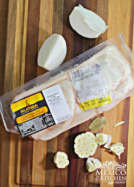 White Menudo Soup | Ingredients