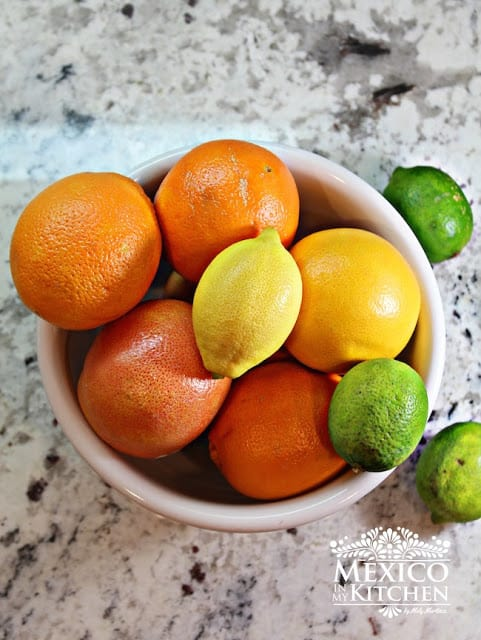 Mexican Limeade and Orangeade recipe | Mexican Fruits