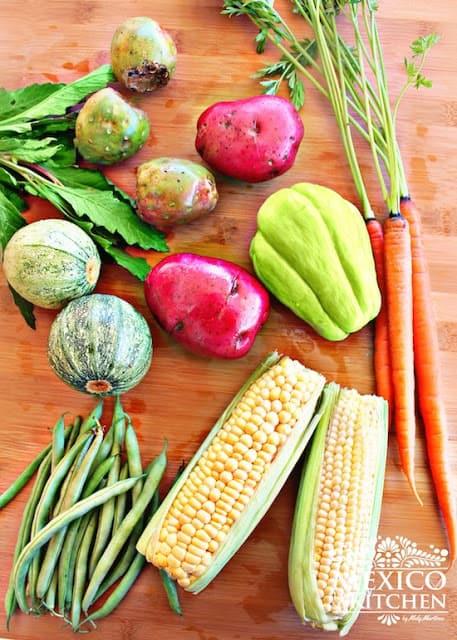 Mole de olla recipe | Ingredients