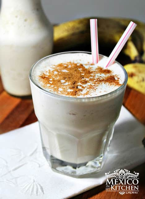 Banana smoothie | Mexican Drinks