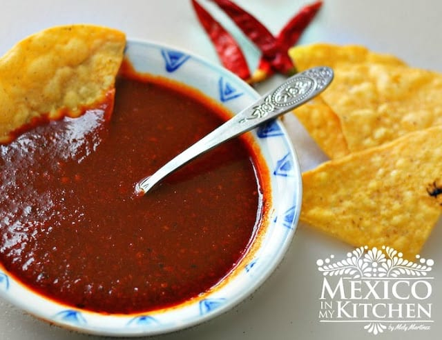 Red Taquería Style Salsa   Authentic Mexican Food