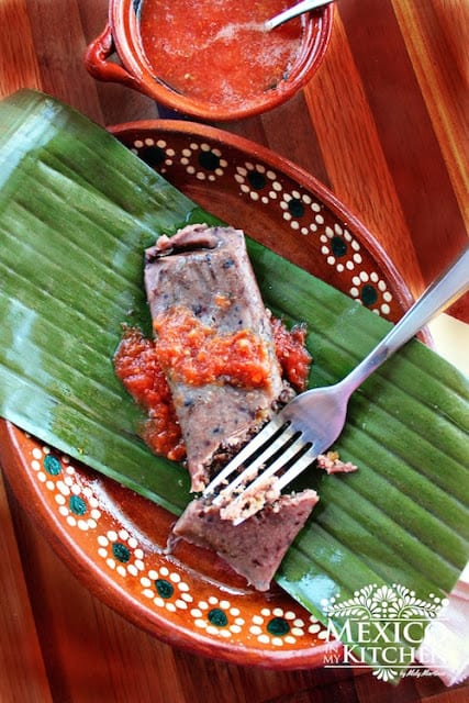 Black Beans Tamales Recipe | easy and with excellent results