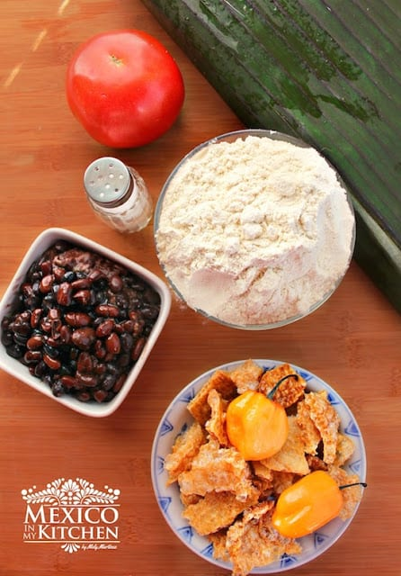 Black Beans Tamales Recipe | easy and with excellent results to impress your guests.