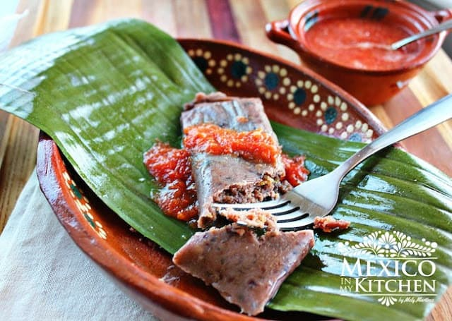 Black Beans Tamales Recipe | Visit our site to check out the full recipe