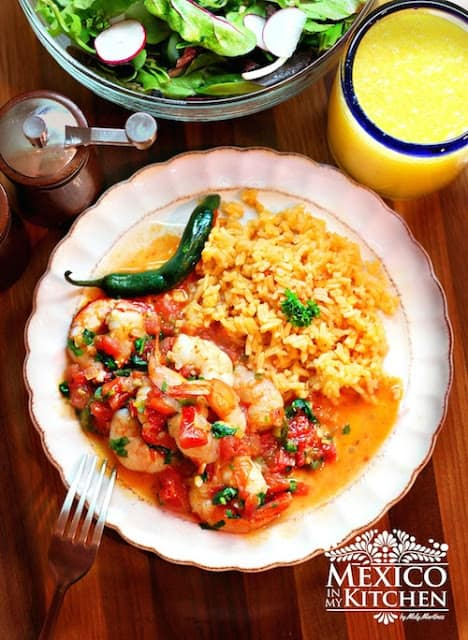 Shrimp Mexican Style Or Ranchero Mexico In My Kitchen