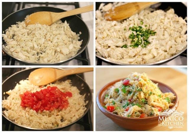 Crab empanada recipe   easy step by step instructions