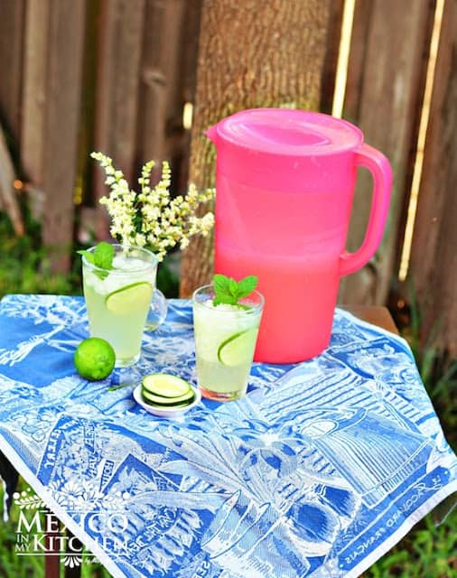 Cucumber Lime Agua Fresca | Mexican Drinks