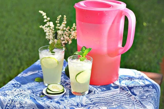 Cucumber Lime Agua Fresca | Mexican Recipes