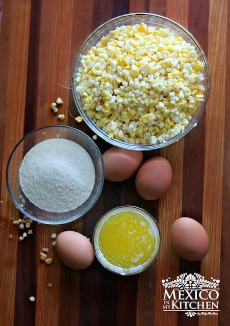 Easy Sweet Corn Bread | Ingredients