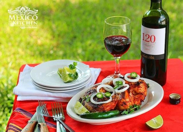 Pollo Asado recipe | Adobo sauce for chicken
