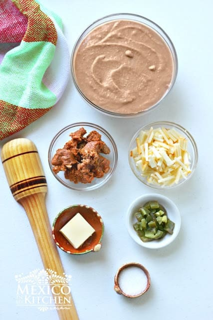 Dirty Beans Dip Recipe | Ingredients