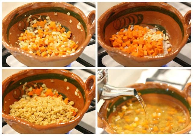 Mexican Pasta Soup Recipe | Instructions step by step