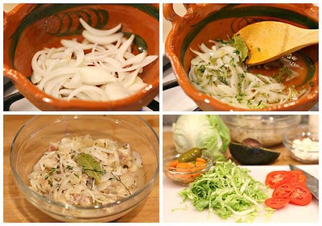 Tostadas de pata de res | instructions step by step, quick and easy