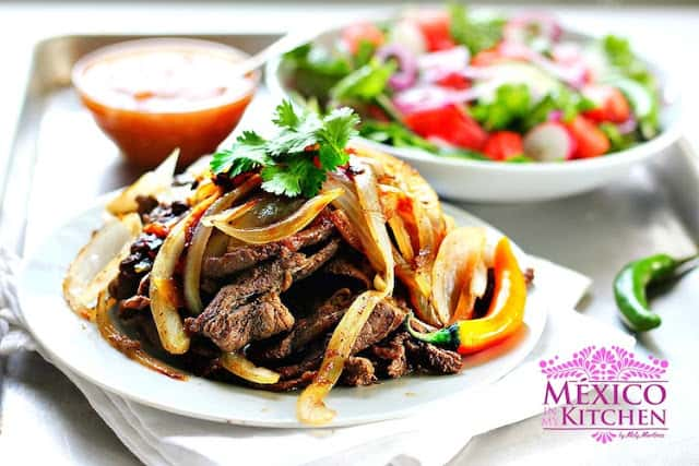 Bistec encebollado  | Mexican Recipes