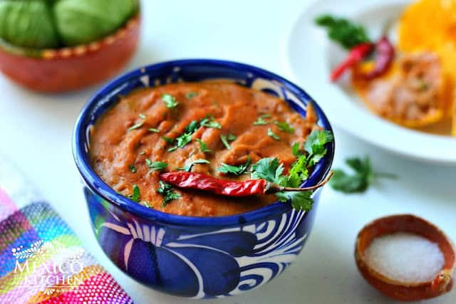 Dirty Beans Dip Recipe | Authentic Mexican Recipes