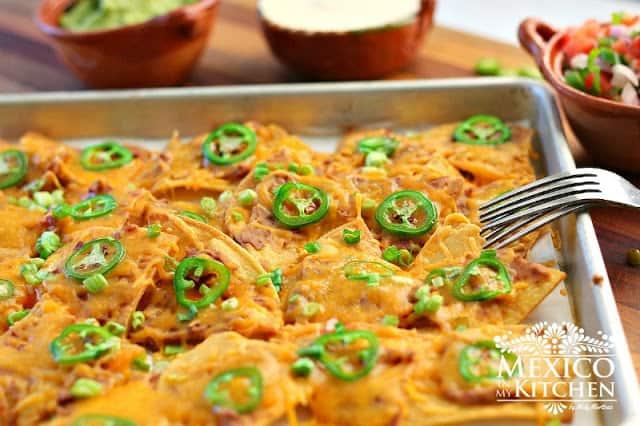Mexican Nachos recipe | Authentic Mexican Recipes